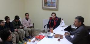 Seçimlerden sonra Okul Meclisi ilk toplantısını yaptı.