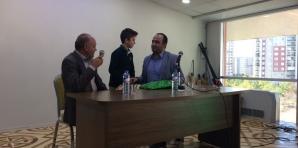 Yeni Devlet Eğitim ve Araştırma Hastanesi Başhekimi Uzman Doktor ERHAN BERK'i konuk ederek değerli öğrencilerimize