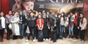 8.sınıflar sinemada...